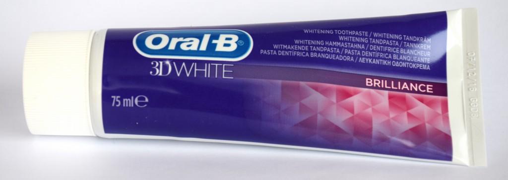 Dentifrice Oral-B 3D white brillance tube