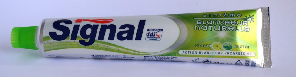 Dentifrice Signal blancheur naturelle tube
