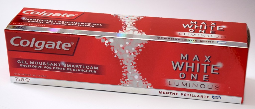 Dentifrice Colgate Max White One Luminous carton