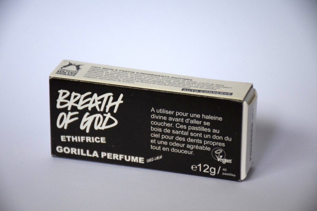 Dentifrice Solide Lush Breath of God Boite