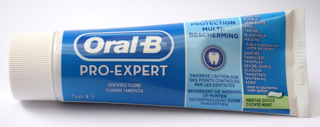 Dentifrice Oral-B Pro-Expert Menthe douce tube