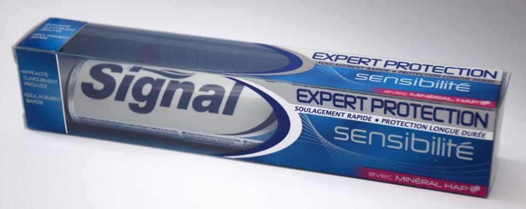 Dentifrice Signal Expert Protection Sensibilité carton