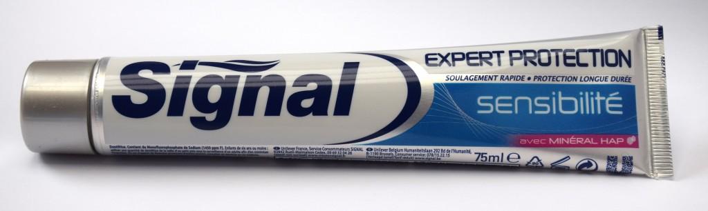 Dentifrice Signal Expert Protection Sensibilité tube