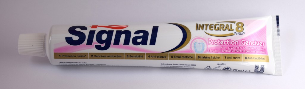 Dentifrice Signal Integral 8 Protection Gencives tube