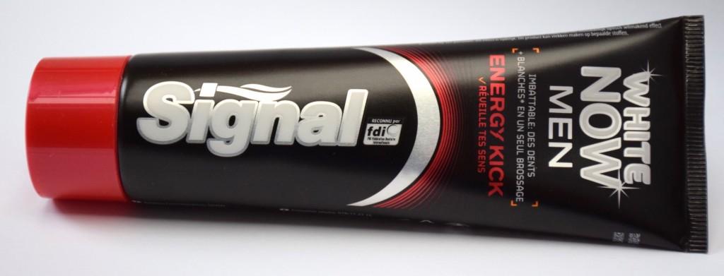 Dentifrice Signal White Now Men Energy Kick tube
