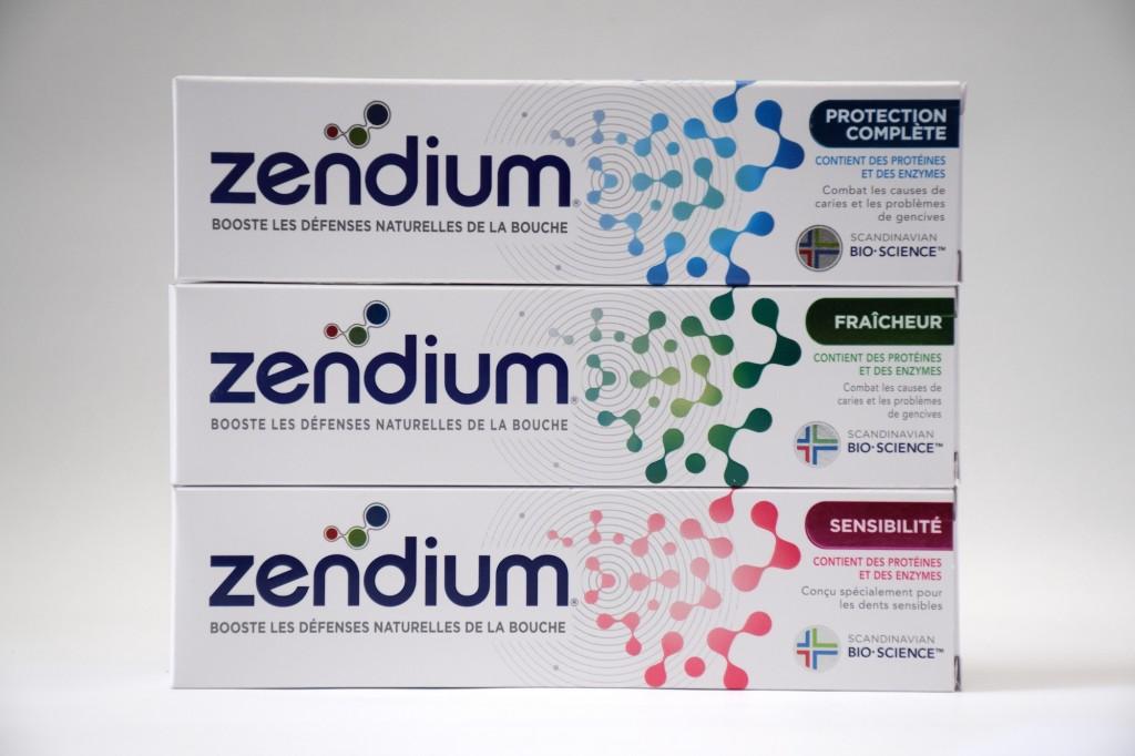 Gamme Adultes Dentifrice Zendium boite