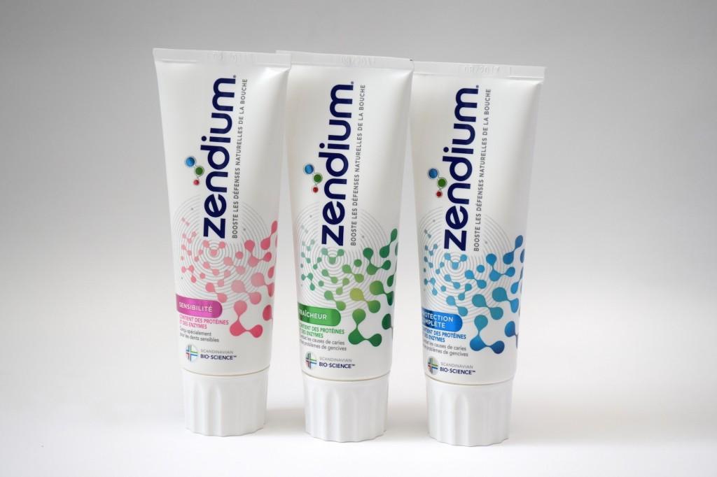 Gamme Adultes Dentifrice Zendium tube