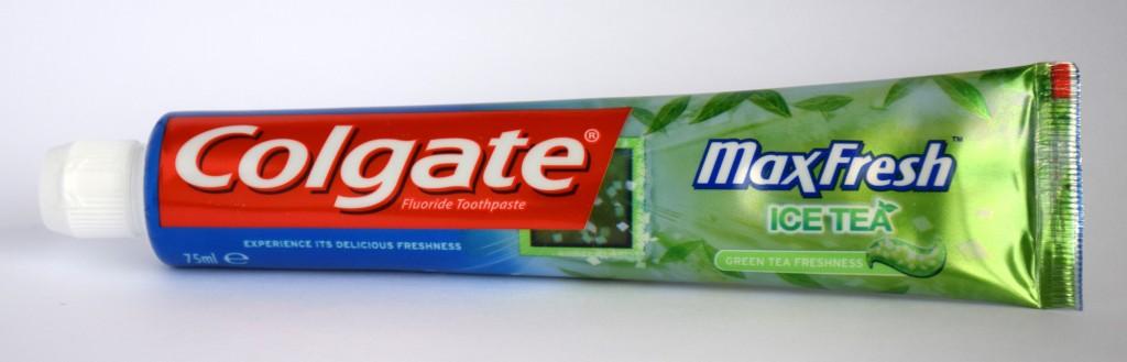 Dentifrice Colgate MaxFresh Ice Tea tube