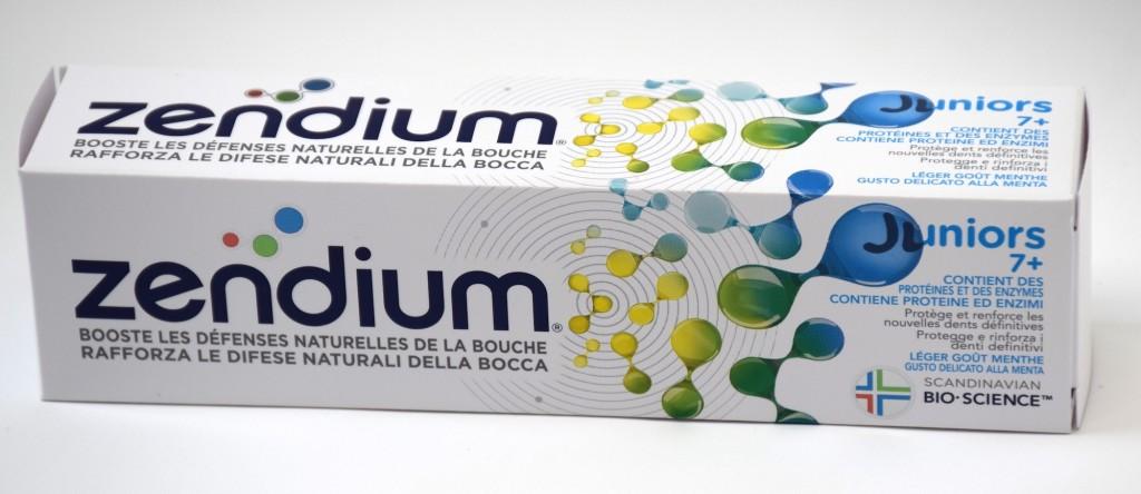 Dentifrice Zendium Juniors 7+ boite