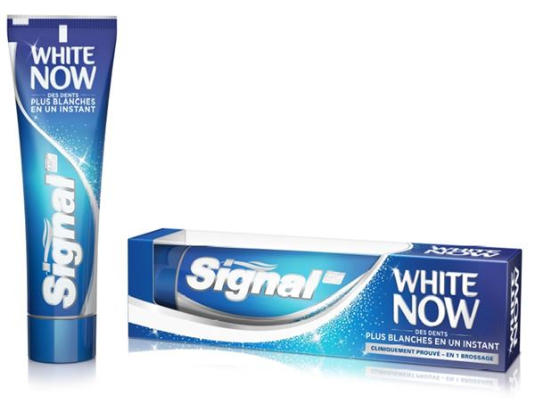 Nouveau Packaging Signal White Now