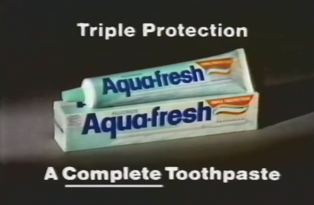 Aquafresh Pub 1983 Triple Protection