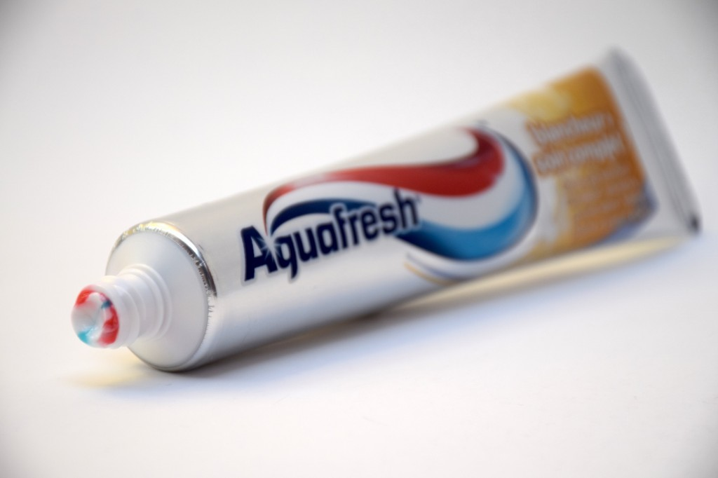Dentifrice Aquafresh Blancheur Soin Complet pate