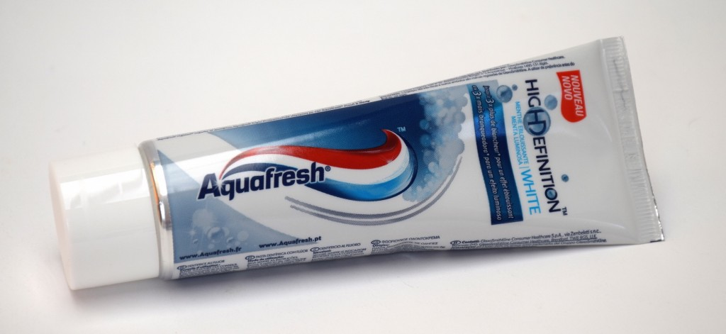 Dentifrice Aquafresh High Definition White Menthe Eblouissante tube