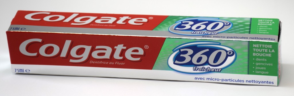 Dentifrice Colgate 360 Fraicheur boite