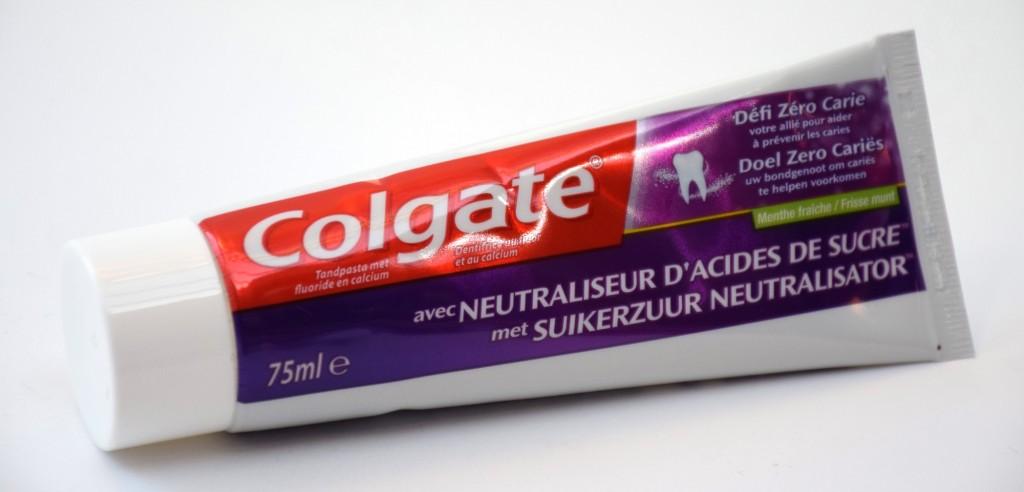 Dentifrice Colgate Défi Zero Carie Menthe Fraiche tube