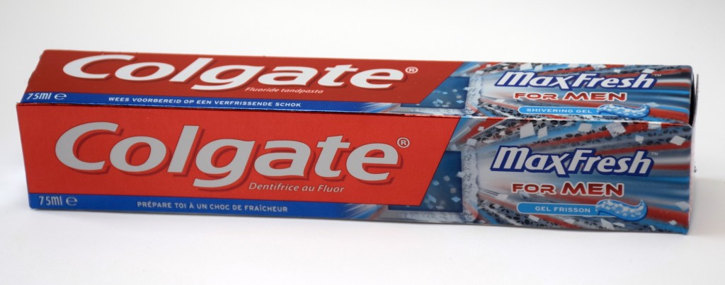 Dentifrice Colgate MaxFresh For Men boite