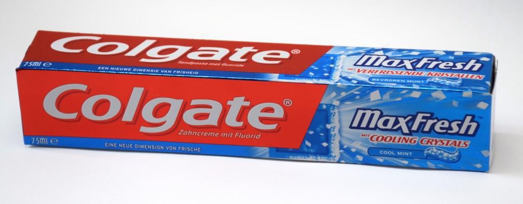 Dentifrice Colgate MaxFresh boite