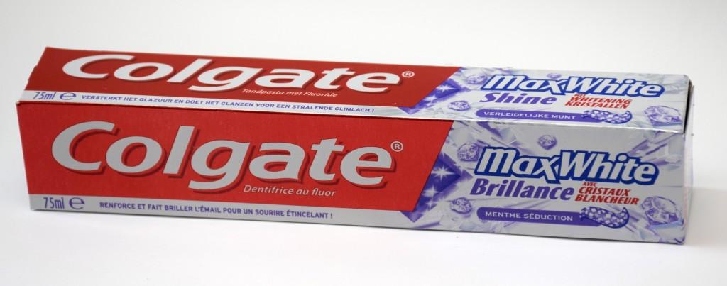Dentifrice Colgate MaxWhite Brillance boite