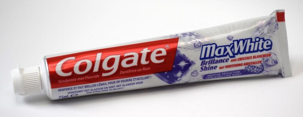 Dentifrice Colgate MaxWhite Brillance tube