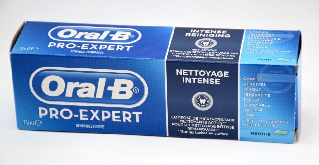 Dentifrice Oral-B Pro-Expert Nettoyage Intense boite