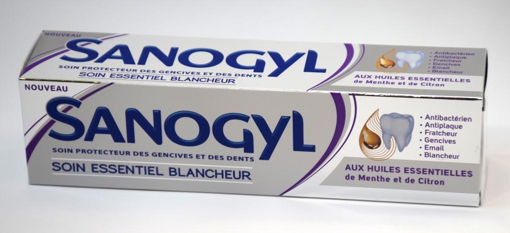 Dentifrice Sanogyl Soin Essentiel Blancheur boite