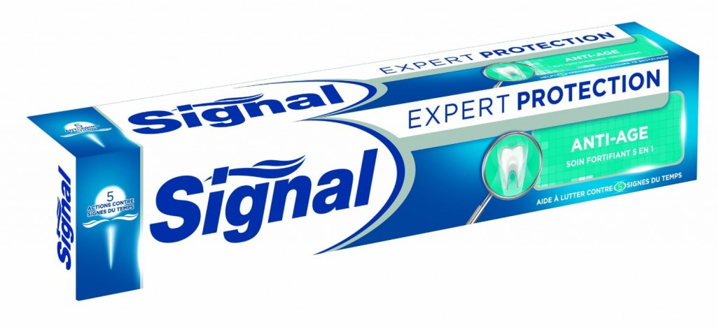 Dentifrice Signal Expert Protection Anti-Age carton