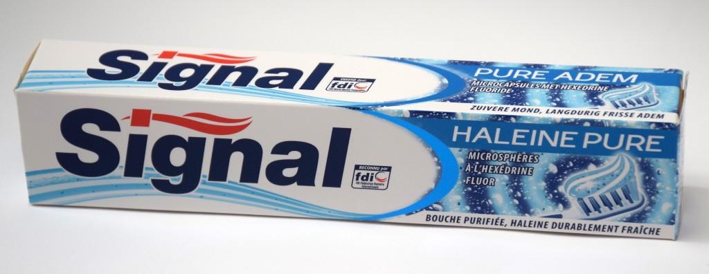 Dentifrice Signal Haleine Pure boite