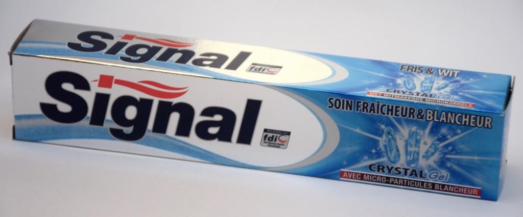 Dentifrice Signal Soin Fraicheur et Blancheur boite