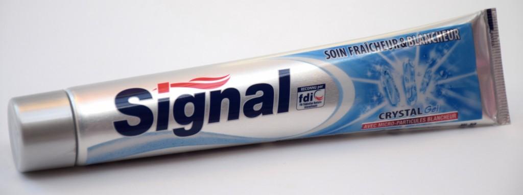 Dentifrice Signal Soin Fraicheur et Blancheur tube