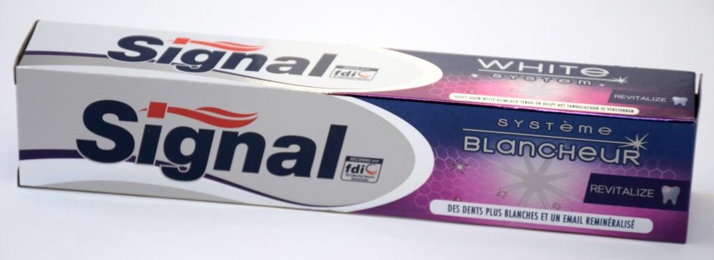 Dentifrice Signal Systeme Blancheur Revitalize boite