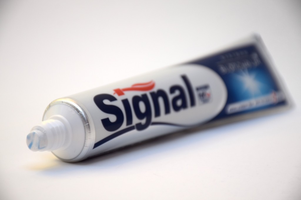 Dentifrice Signal Systeme Blancheur pate
