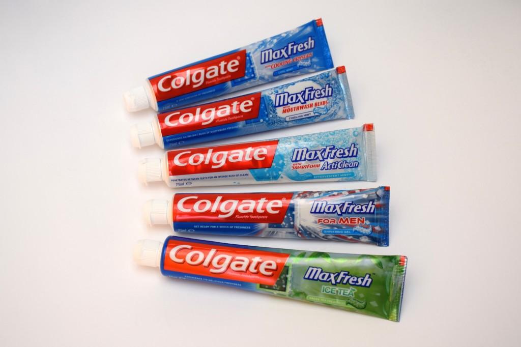 Gamme MaxFresh Dentifrice Colgate tube